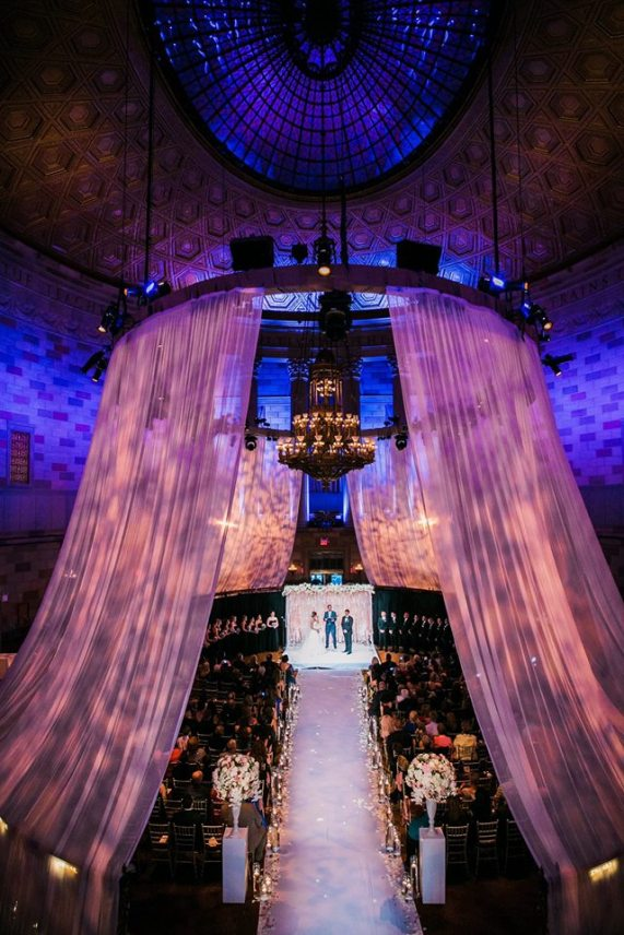 Gotham Hall, Wedding Ceremony