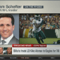 Schefter weathers storm to break McCoy story from his car