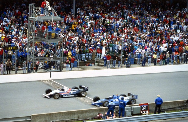 Tbt Espn Analyst Was Involved In Closest Indy 500 Finish