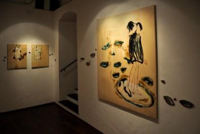 """Tommaso De Luca, """"A macchia d'olio"""". Courtesy Galleria d'arte Il Vicolo. Start genova 2011. Photocredit Matteo Zappettini"""