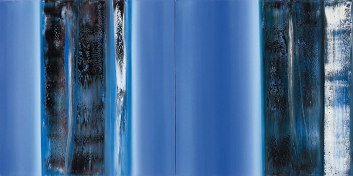 Raffaele Cioffi, 2010, cm 90x180. Courtesy White Gallery, Milano