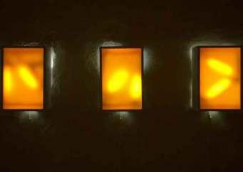 Mattia Macchieraldo,'Sonatas and Interludes', 2011, 4 light box, courtesy of Fart Gallery