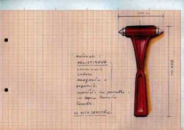 """Andrea Buglisi,""""Red Hammer"""", progetto, 2011"""