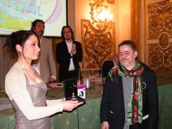 Consegna del premio in memoria di Frank Mancarella