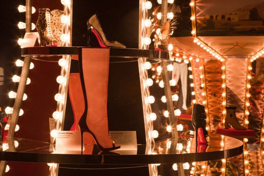 christian louboutin retrospective at design museum image © luke hayes