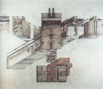 Raimund Abraham, The House, 1980