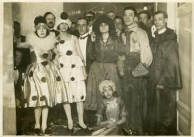 Vittorio De Sica con la compagnia teatrale di Tatiana Pavlova (1923-1925)