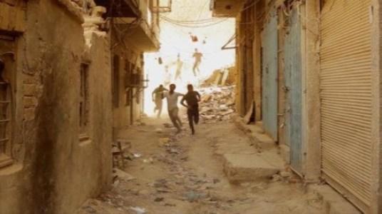 "Hareth Alhomaam, Buzz, 2012, video, 10' 00"", courtesy of the artist and RUYA Foundation"