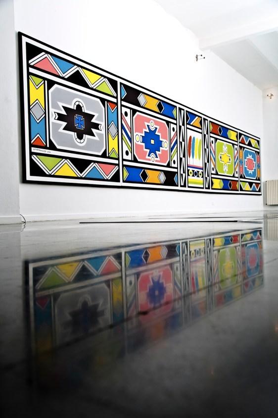 Africana, veduta della mostra, Mudima, Milano Foto Fabio Mantegna