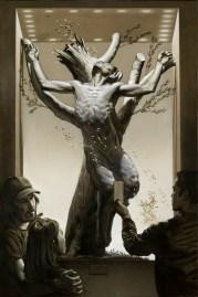 Nicola Verlato, Pan's Crucifixion, cm 60x90