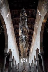 Wim Delvoye Lucca, Chiesa di San Cristoforo Lucca. Foto: Fiorenzo Sernacchioli