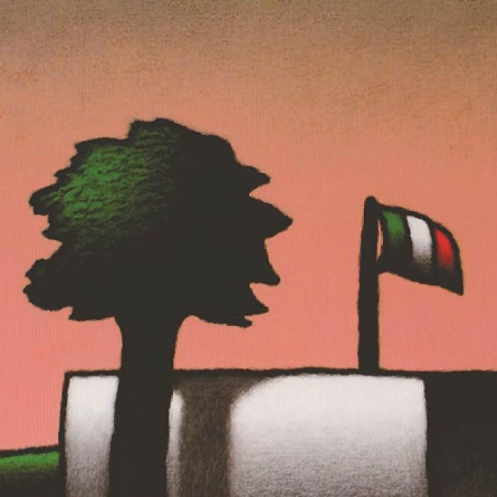 Tino Stefanoni, Senza titolo, cm 36x36