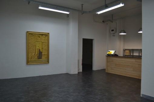 Veduta del nuovo spazio (galleria +) Oltredimore, Bologna