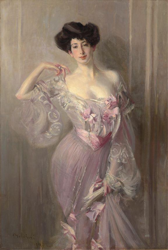 Giovanni Boldini, Ritratto di Betty Wertheimer, olio su tela, 155.5x103 cm Courtesy Robilant + Voena, Milano - Londra