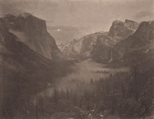 Takeshi Shikama, Silent Respiration of Forests. Yosemite #13, 2010, platinum print on Gampi paper, Ed.9, cm 26.5x34