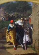 Domenico Morelli, I Vespri Siciliani, 1859-60, olio su tela, 264x185 cm, Museo di Capodimonte, Napoli