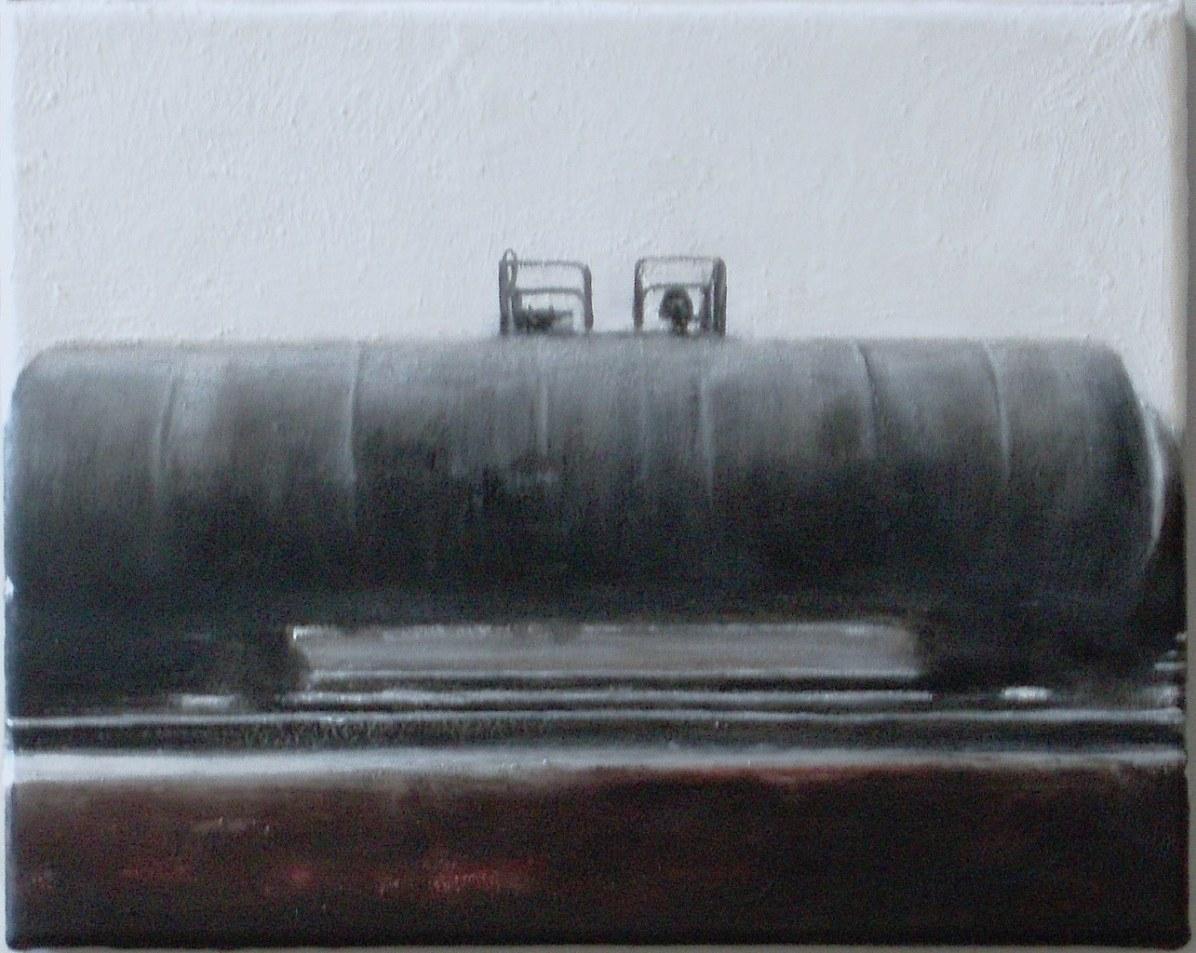 Domenico Piccolo, Pittura n.1, 2014, acrilici, olii e cera su tela, 30x24 cm Courtesy Federico Bianchi Gallery, Milano
