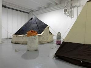 Brian Griffiths, The kidd 2013, exhibitions view at dispari&dispari projec, photo by Dario Lasagnii