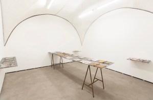 Gabriele Silli Esercizi di accanimento ottativo-digitali, 2014 installation view photo by Federico Maria Tribbioli courtesy Federica Schiavo Gallery, Roma