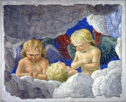 Melozzo da Forlì, Gruppo di angioletti, 1480 c., Città del Vaticano, Musei Vaticani