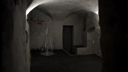 Franco Mazzucchelli, Omaggio all'aria, CerrutiArte, installation view, foto di Simone Savina