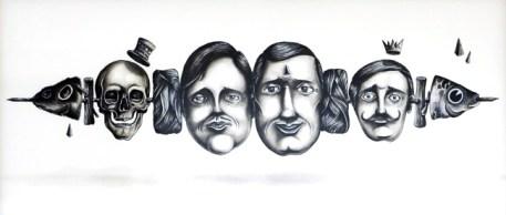 SeaCreative, immagine guida della mostra Sogni di Grigio, ego gallery Lugano