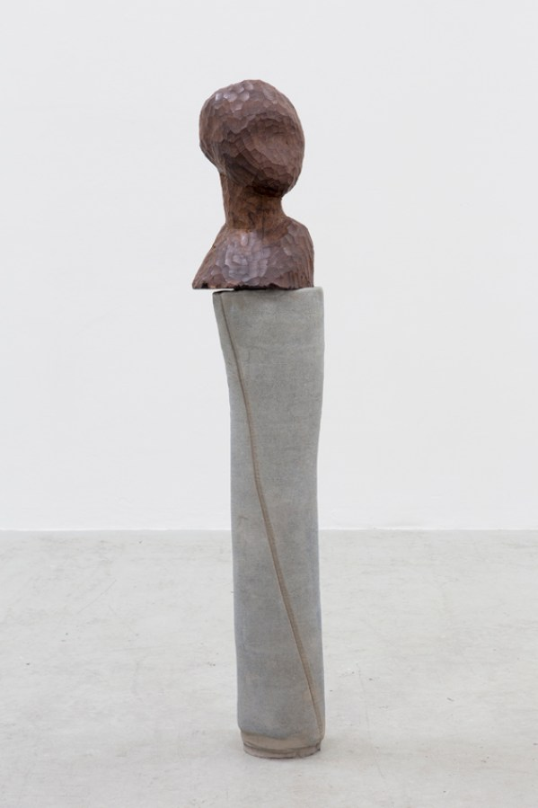 Marie Lund, Attitudes Concrete, 81x20x18cm,2013 Photography Kristoffer Juel Poulsen courtesy of Laura Bartlett Gallery, London and Croy Nielsen Gallery,Berlin