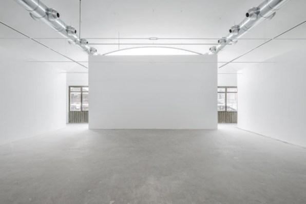 Gli spazi di M77 Gallery, Milano