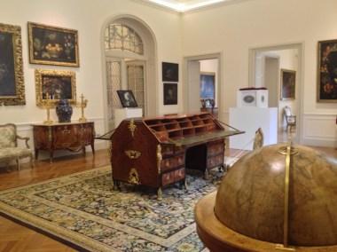 Sala delle Nature Morte, Remake, veduta dell'allestimento a Villa Margherita, Bordighera, (Imperia)