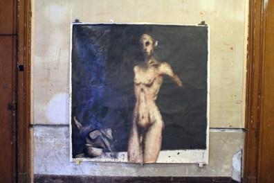 Piero Roccasalvo, Dal nero al bianco, cm 200 x 200, 2014