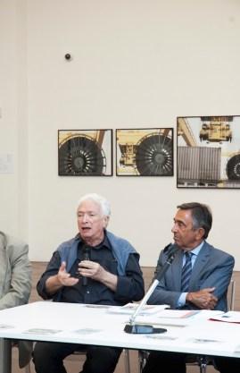 Mario Cresci. Ex/Post. Orizzonti momentanei, 2014, Museo Ma*Ga, inaugurazione della mostra, ph. ©MOnicamazzoleni