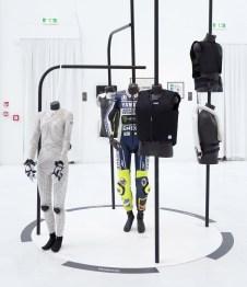 Textile vivant, allestimento della mostra, Triennale Milano (Dainese)