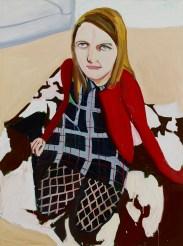 Chantal Joffe, Bumptious Mansions 2014 olio su tela / oil on canvas 243,8 x 183,5 cm Courtesy the Artist, Victoria Miro Gallery, Collezione Maramotti © Chantal Joffe