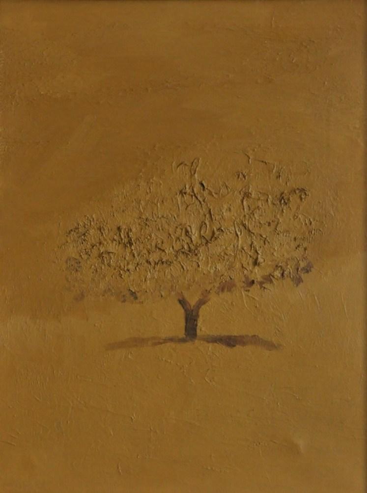 CARLO MATTIOLI, PEASAGGIO D ESTATE, 1974, olio su tela, 80 x 60 cm