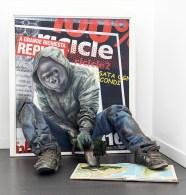 Federico Unia, The Last One, 2013, tecnica mista, 95x85x60 cm (in collaborazione con Emiliano Rubinacci)