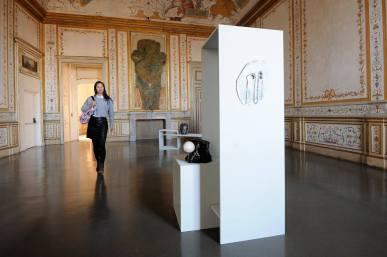 illy Present Future Prize 2013 Exhibition Caroline Achaintre, Fatma Bucak Opening Castello di Rivoli 7_11_2014 © Giorgio Perottino