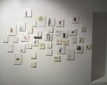 Elisa Muliere, Icaro deve cadere, veduta della mostra(4)
