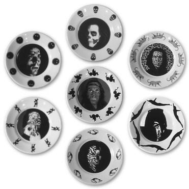 FELICE LEVINI I SETTE VIZI CAPITALI, 2002 Ceramica