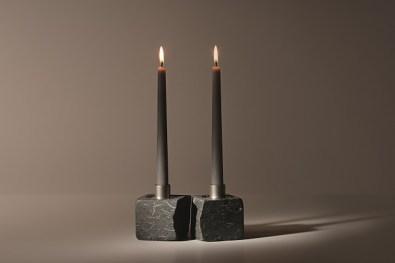 Greta Rento, Forever, 2014, pietra, acciaio, cera, 7x14x32 cm, Courtesy Studio la Città, Verona