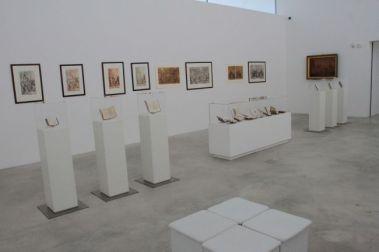 Veduta allestimento mostra Salvator Rosa, febbraio 2015, m.a.x.museo Chiasso