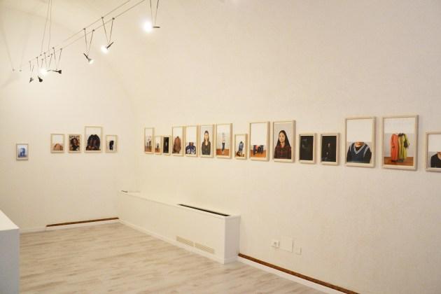 Arianna Arcara. Carte de visite, veduta dell'allestimento, Mapping Contemporary Art Space, Rovereto (TN)