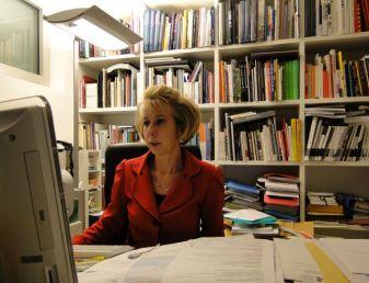 Ritratto di Nicoletta Ossanna Cavadini, direttore m.a.x.museo Chiasso