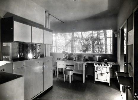 Gruppo 7, Piero Bottoni, Casa Elettrica, cucina, IV Triennale di Milano, 1930