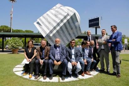Park Eun Sun. VolareArte III edizione, 2015-2017, inaugurazione, Aeroporto Galileo Galilei, Pisa