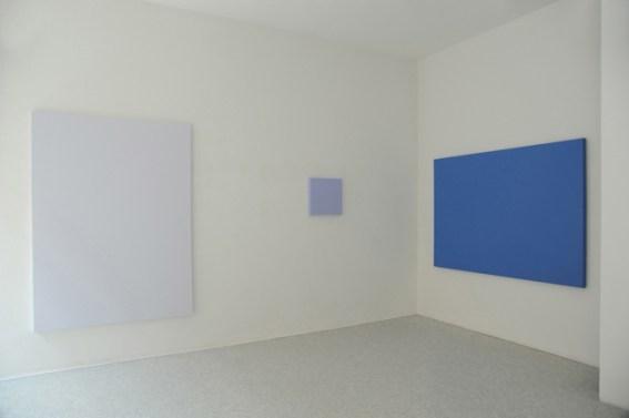 Sonia Costantini, Monochrome Malerei, Galerie Artopoi, Friburgo, 2009