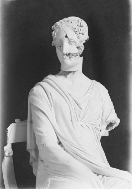 Antonio Canova, La Musa Polimnia Foto di Stefano Serafin, 1918
