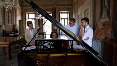 Carlotta Testori, Alessandro Brivio Sforza, Gianluigi Ricuperati, Ricciarda Belgiojoso Foto Edoardo Pelucchi