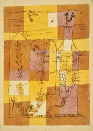Paul Klee, Hoffmanneske Märchenscene, 1921, Gabinetto disegni e stampe Bologna