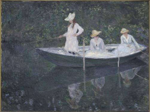 Claude Monet, En norvégienne, vers 1887, olio su tela, 97.5x130.5 cm, inv. RF 1944 20 15 (i.d 33) Monet 15, Paris, Musée d'Orsay © RMN-Grand Palais (Musée d'Orsay) / Hervé Lewandowski