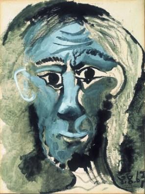 Pablo Picasso, Autoritratto, 1967